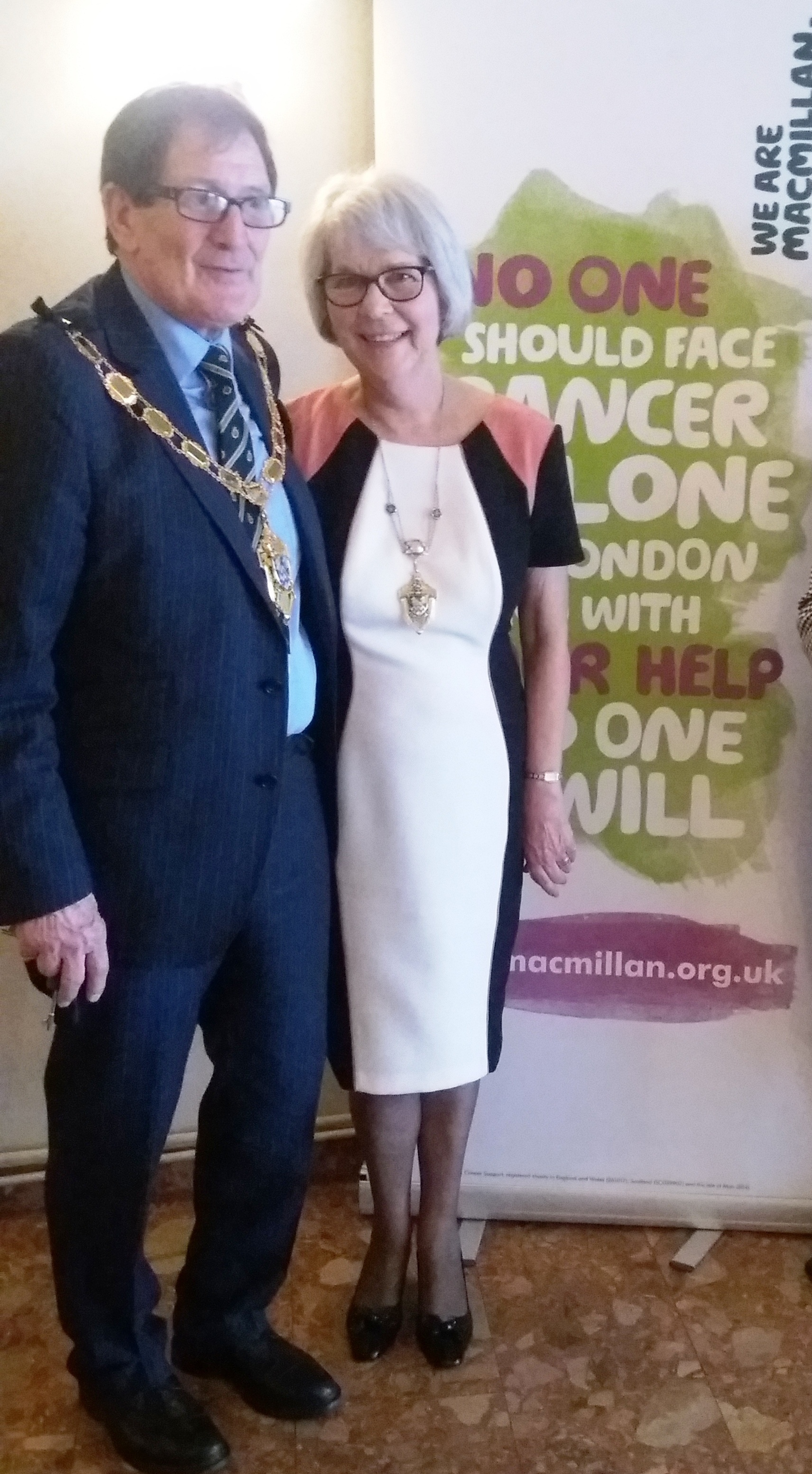 Photograph of the Mayor and Mayoress