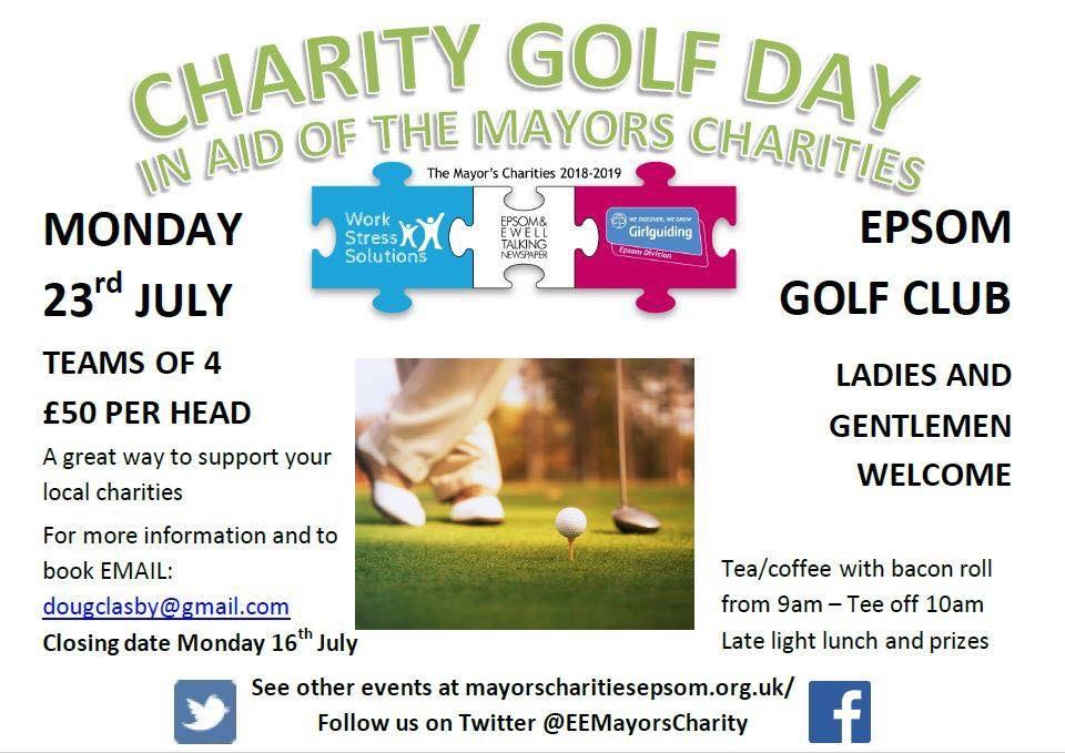 Poster of Golf Day Event
